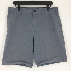 Hurley Striped Gray Surf Boardshorts Mens 36